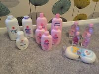 Johnson's Baby Bundle of NEW Toiletries