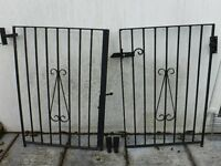 Free - Cast iron gates . Collection. excellent condition.