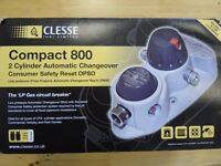 Cleese (UK) Limited Compact 800 2 Cylinder Automatic Changeover