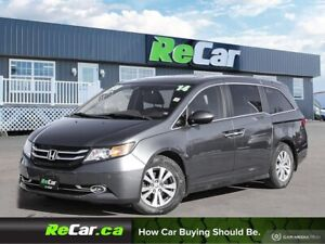 2014 Honda Odyssey EX-L HEATED LEATHER | DVD | BACK UP CAM