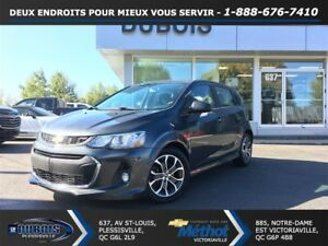 2017 Chevrolet Sonic TURBO+TOIT OUVRANT+MAGS+COMME NEUF