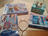 Disney Frozen games and toy bundle