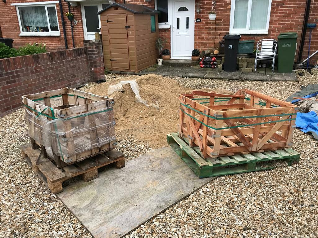 Free wooden crate and two pallets Weymouth   in Weymouth ...