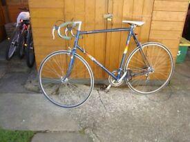 vintage Bike racer.