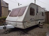 Swift Charisma 550 2002 Caravan, awning and extras,