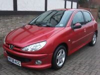 2006 Peugeot 206 Verve, 5-door Hatchback, 1.4 HDi Diesel, 142k, MoT until June 2018