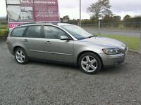 06 Volvo V50 Estate 1.8 Moted July 2017 ( can be viewed inside anytime)