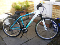 "LADIES ALUMINIUM 17"" FRAME BIKE HARDLY USED IN GREAT WORKING CONDITION"