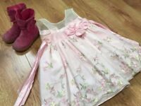 Kids dress and Boots