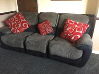 Settee 3 seater /2 seater and chair