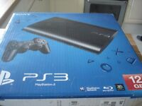 Playstation 3 console 2 pads 4 games