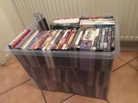 100 dvds some brand new only £20