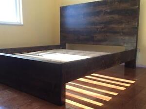 NEW RUSTIC BEDs
