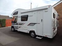 Motorhome: five berth, coachbuilt. Excellent condition