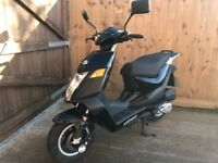 Keeway flash 50cc 2 stroke 500miles 12 months mot scooter moped