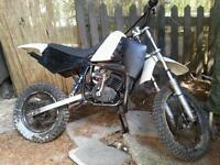 Lem 50cc kids dirt bike same engine as ktm husky boy