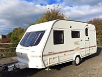 Elddis Broadway 4 berth Caravan With Motor Mover & Awning - Lightweight Caravan