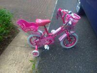 """Girls 12"""" bike Sweetie"""