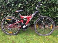 Boy's Giant MTX mountain bike