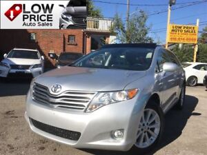 2012 Toyota Venza Leather*PanoramicRoof*AWD*HtdSeats&Keyless*