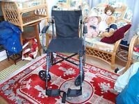 Travelite collapsible portage wheel chair
