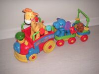 Fisher Price Musical Train And Trailer For Sale