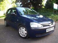 Vauxhall Corsa 1.7 Di 16v GLS 5dr£950 LONG MOT + 3 MONTH WARRANTY 2003 (03 reg), Hatchback