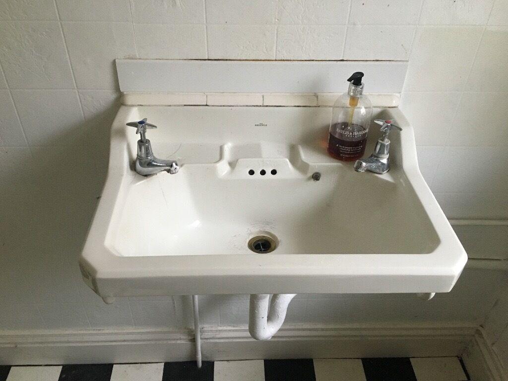 Bathroom Sinks Gumtree the reginus' art deco sink on brackets | in bath, somerset | gumtree