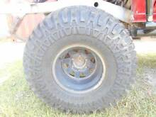 Maxxis Mudzilla set of 5 Brand new on Toyota Hilux Sunraysia Rims Maryborough Fraser Coast Preview