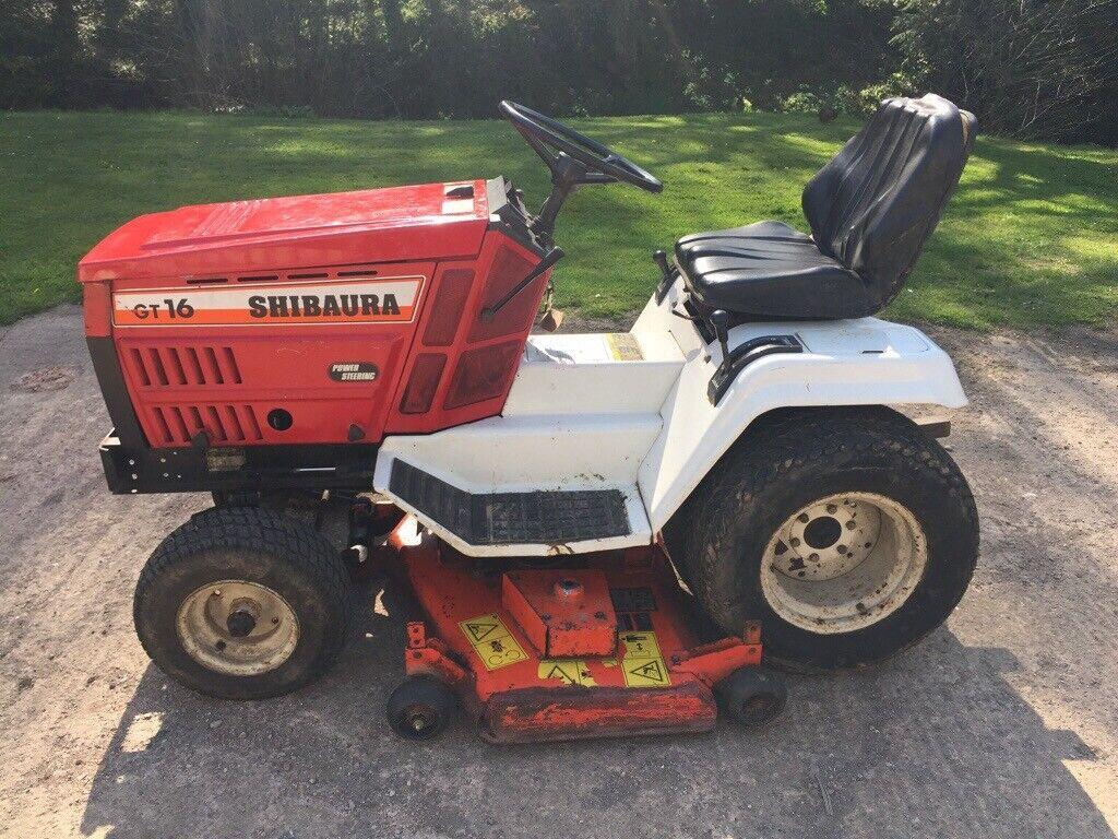 "Shibaura GT16 ride on lawn mower - 48"" cut Kubota deck - Diesel engine - No  VAT! | in Exeter, Devon | Gumtree"