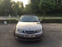Saab 9-3 Convertable automatic petrol 2.0 turbo 2007