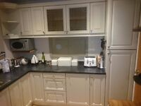 Hand painted kitchen units and accessories
