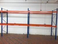 ESMENA PALLET RACKING BUNDLE 2m Frames 3.6m Beams (Chelmsford Branch)