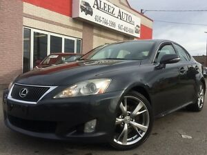 2009 Lexus IS 250 FULLY LOADED WITH LEATHER, CAMERA AND NAVIGATI