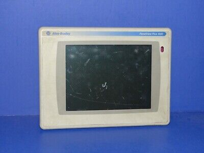 Allen Bradley Panelview Plus 1000 2711p-rdt10c A Display Only Marks On Screen