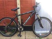 """Specialized Hardrock Sport mountain Hybrid bike 19"""" Frame. 26"""" Wheels. Serviced bike"""