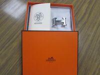 Genuine Hermes Silver Belt Buckle For Sale £50.00
