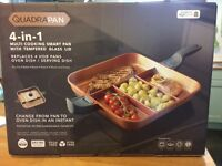 Quadrapan- 4 in 1 frying pan