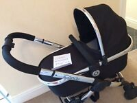 ICandy Peach 3 carrycot and stroller