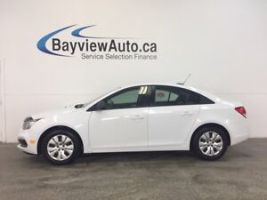 2016 Chevrolet CRUZE LTD- 6 SPEED! 1.8L! ON STAR! PWR GROUP!