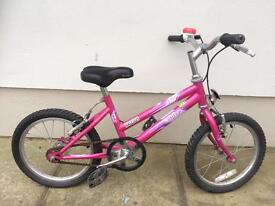 """Girls 12"""" Raleigh bicycle"""