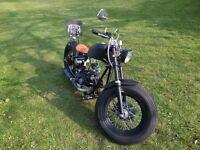 Hard knock Kikker 5150 chopper/bobber 125cc motorbike