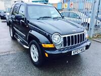 (2007) AUTOMATIC / JEEP CHEROKEE 2.8 CRD LIMITED / DIESEL
