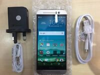 HTC M9 GOLD / UNLOCKED / 16 GB / VISIT MY SHOP/ .NEW COND. /1 YEAR WARRANTY + RECEIPT