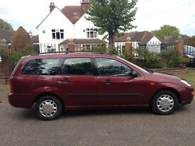 FORD FOCUS ESTATE MOT 5 MONTHS VERY RELIABLE-STEREO-CENTRAL LOCKING-ELECTRIC WINDOWS-WE CAN DELIVER