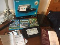 Wii u with games like new