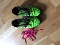Boys Adidas football boots size 5