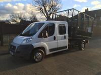 Fiat ducato crew cab tipper 2011 39,000 miles full service history 1 owner from nee