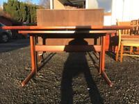 Large extending Danish style dining table