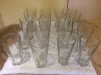 Anchor Large glasses very good quality 2 sets of 6 avaliable.